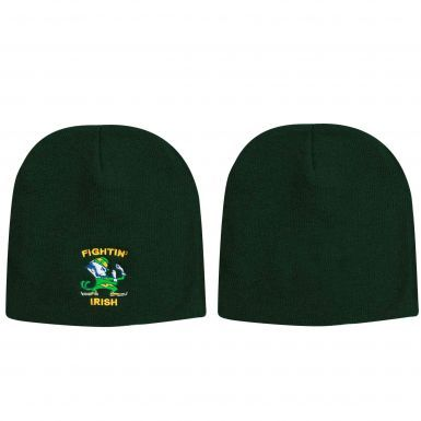 Ireland Fighting Irish Logo Beanie Hat
