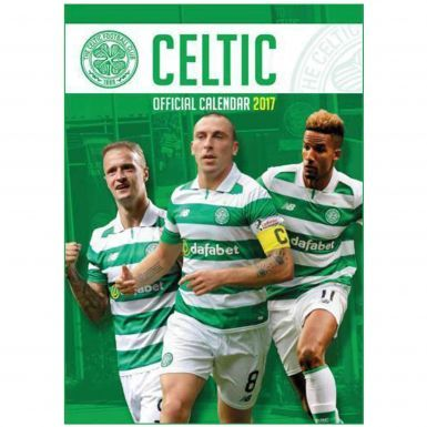 Celtic FC 2017 Football Calendar