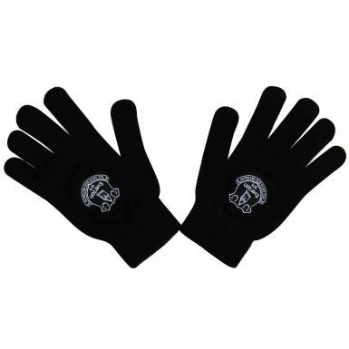 Everton FC Crest Woolly Gloves
