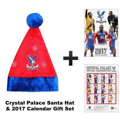 Crystal Palace 2017 Calendar & Xmas Santa Hat