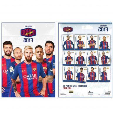 FC Barcelona (La Liga) 2017 Soccer Calendar