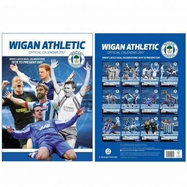 Wigan Athletic 2017 Football Calendar