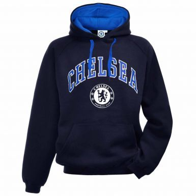 Official Chelsea FC Crest Leisure Hoodie