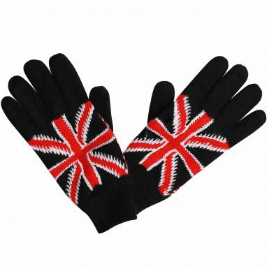 Union Jack Knitted Gloves For Winter