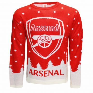 Arsenal FC Knitted Christmas Sweater