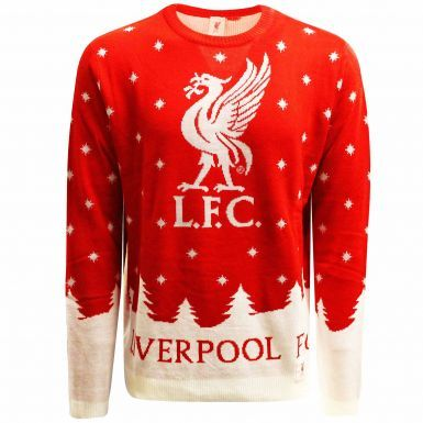 Unisex Liverpool FC Knitted Christmas Jumper