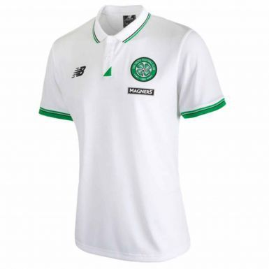 Official Celtic FC Polo Shirt by New Balance