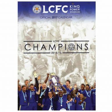 Leicester City 2017 Football Calendar