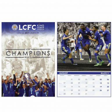 Leicester City (Premier League) 2017 Soccer Calendar