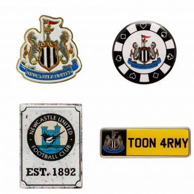 Official Newcastle United Crest Badge Set