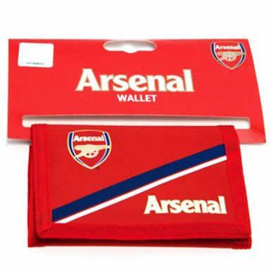 Arsenal FC Nylon Money Wallet