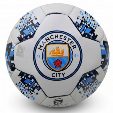 New Manchester City Crest Size 5 Soccer Ball