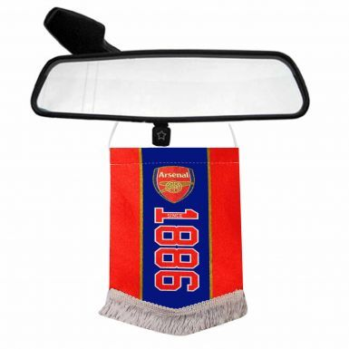 Arsenal FC Crest (EST 1886) Mini Pennant