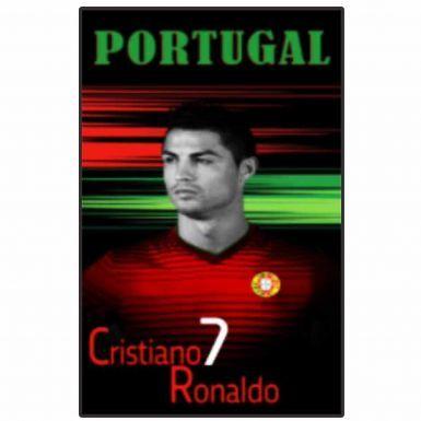Giant Cristiano Ronaldo & Portugal Soccer Beach Towel