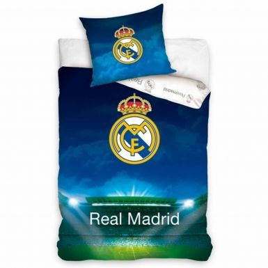 Official Real Madrid Single Comforter Cover Set