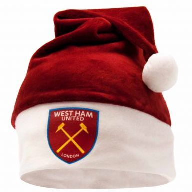 West Ham United Christmas Santa Hat