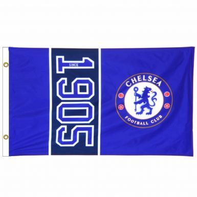 Official Chelsea FC (Premier League) Crest Flag