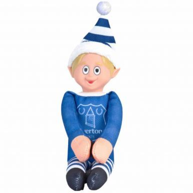 Official Everton FC Elf on the Shelf Toy Mascot