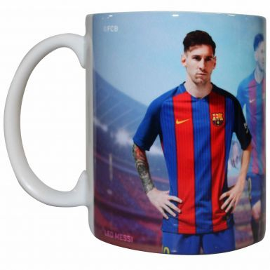 Official Lionel Messi & FC Barcelona Soccer Mug (11oz)