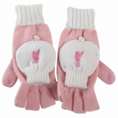 Liverpool FC Ladies Woolly Mittens (Gloves)