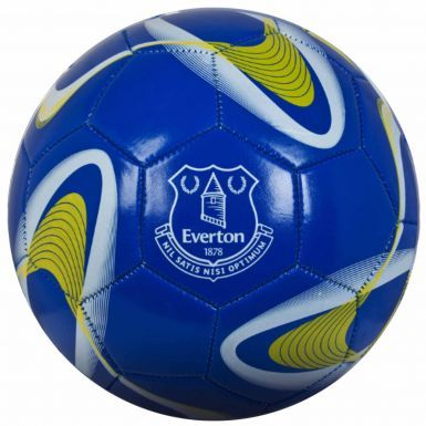 Everton FC Crest Soccer Ball (Size 5)
