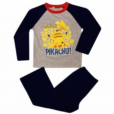 Official Kids Pokemon Pikachu Pyjamas