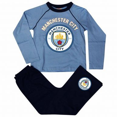 Manchester City Kids Football Pyjamas