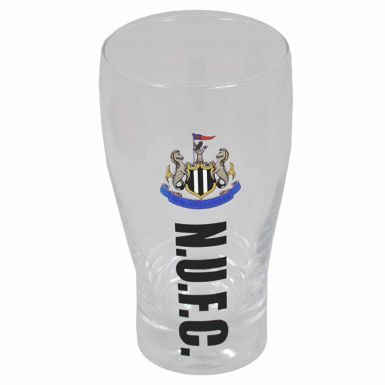 Official Newcastle United Crest Pint Glass