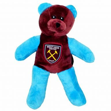 Official West Ham United Beanie Bear Mascot