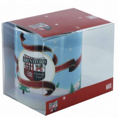Official Brentford FC Christmas Mug (11oz)