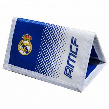 Real Madrid Crest Nylon Money Wallet