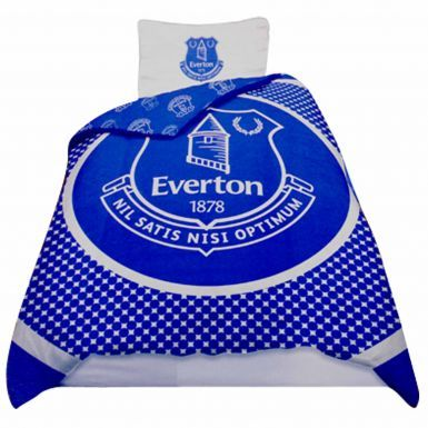 Everton FC Single Duvet Cover & Pillowcase Set