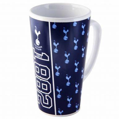 Tottenham Hotspur (Spurs) Crest Latte Mug