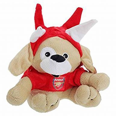 Arsenal FC Puppy With Hat Toy Mascot