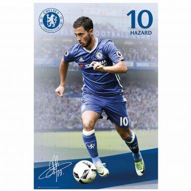Giant Chelsea FC & Eden Hazard Poster