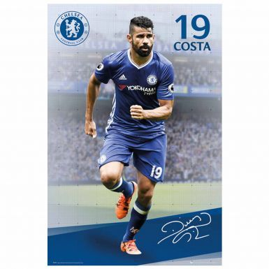 Giant Chelsea FC & Diego Costa Poster