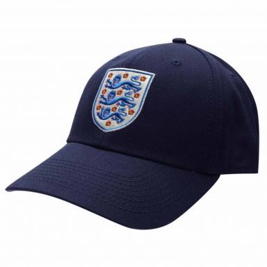 Official England 3 Lions Crest Baseball Cap (Adults)