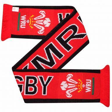 WRU Wales (Cymru) Rugby Fans Scarf
