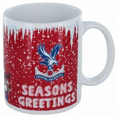 Official Crystal Palace Christmas and Santa 11oz Mug