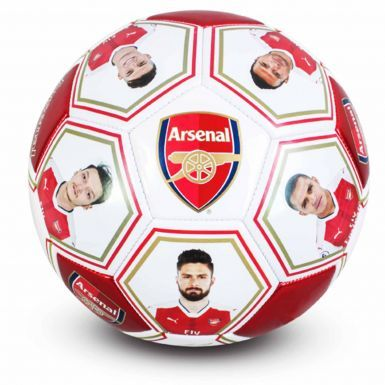Arsenal FC Player Photo & Signature Soccer Ball (Size 5)