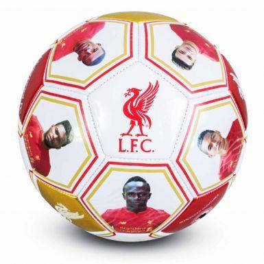 Liverpool FC Photo & Signature Football (Size 5)
