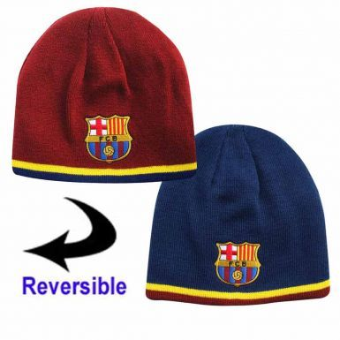 FC Barcelona (La Liga) Reversible Beanie Hat