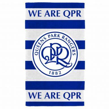 Official Queens Park Rangers Crest Towel
