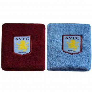 Official Aston Villa Crest Jumbo Wristbands