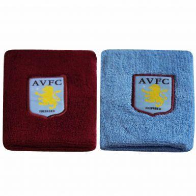 Official Aston Villa Crest Jumbo Wristbands
