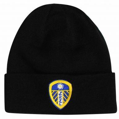 Official Leeds United Crest Bronx Hat (Black)