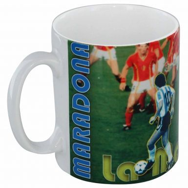 Diego Maradona Football Legend Mug