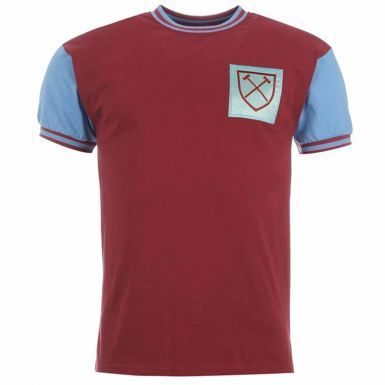 Classic West Ham United 1966 Retro Shirt