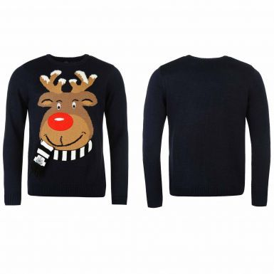 Newcastle United Christmas Jumper (Unisex & Official)