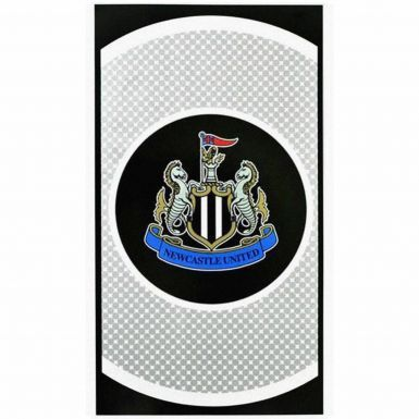 Newcastle United Bullseye Crest Bath Towel